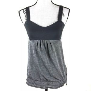 Lululemon Layered Tank Top Workout Yoga Athletic
